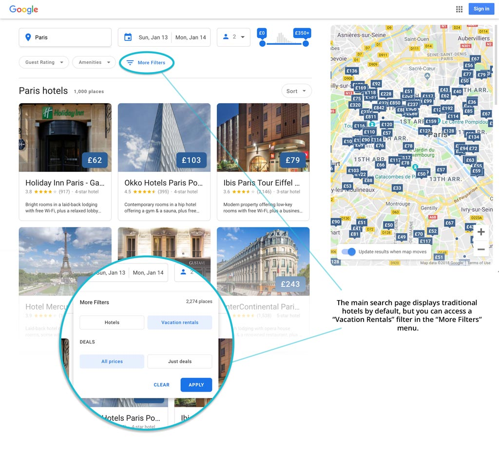 Condo Rental Search: Google Will Soon Include Vacation Rental Listings
